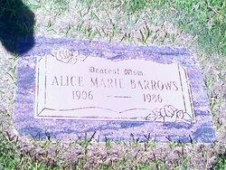 Alice Marie <I>Sharp</I> Barrows