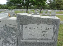 Virginia Evelyn <I>Mayes</I> Malbone