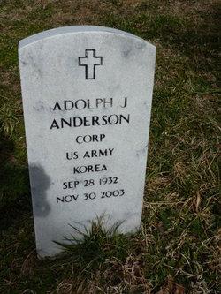 Adolph J Anderson