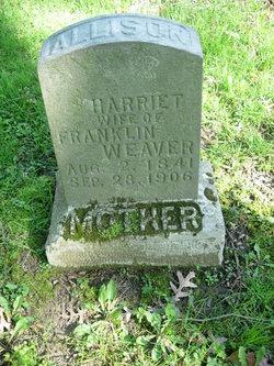 Harriet <I>Oilar</I> Allison