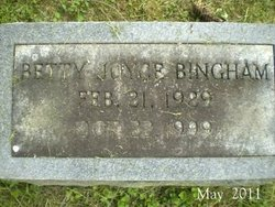 Betty Joyce Bingham