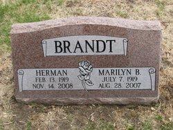 """Herman I. """"Harry"""" Brandt"""