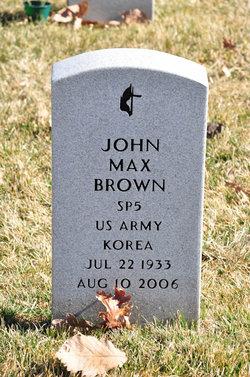 John Max Brown