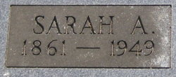 Sarah Amanda <I>Staton</I> Garner
