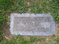 Hannah <I>Nagle</I> Golze