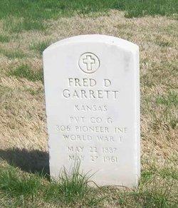 Fred D Garrett