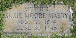 Susie <I>Moore</I> Mabry