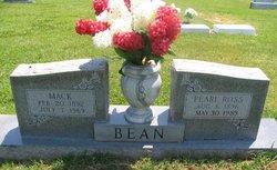 Pearl <I>Ross</I> Bean