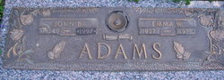 """Emma W """"Mae"""" <I>George</I> Adams"""