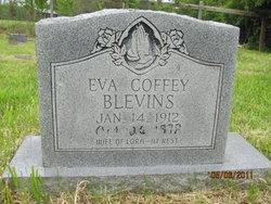 Eva <I>Coffey</I> Blevins