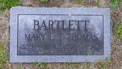 Mary Elizabeth <I>Tarr</I> Bartlett