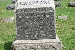 """Mehetable """"Jane"""" <I>Hunter</I> Davenport"""