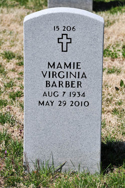 Mamie Virginia Barber