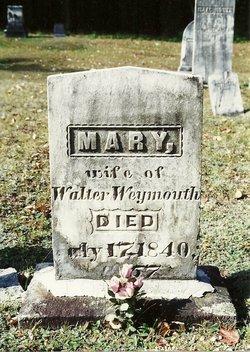 Mary <I>Labree</I> Weymouth