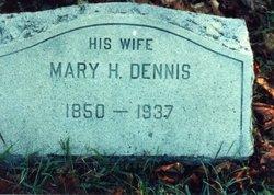Mary Hannah <I>Dennis</I> Kinne