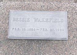Bessie <I>Banning</I> Wakefield