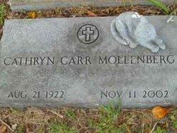 Cathryn <I>Carr</I> Mollenberg
