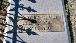 Carl Morrison Allen