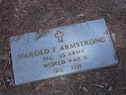 Harold F Armstrong