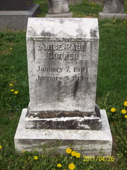 Anice Page Cooper