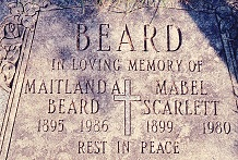 Mrs Mabel <I>Scarlett</I> Beard