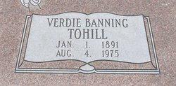 Verdie Evelyn <I>Stentz</I> Tohill