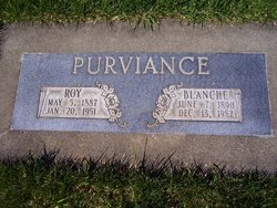 "Leroy ""Roy"" Purviance"