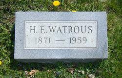 Homer Elmer Watrous