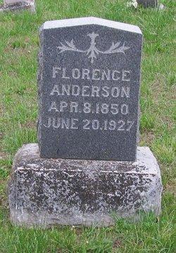 Florence B <I>Wilson</I> Huls, Anderson