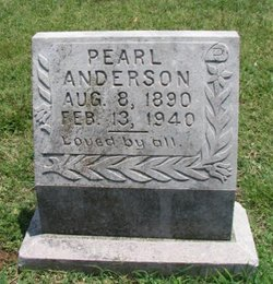 Pearl <I>Bean</I> Anderson