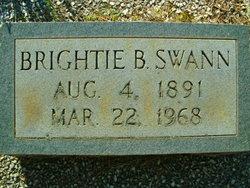Brightie <I>Barker</I> Swann