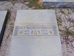 "Agnes Delula ""Lula"" <I>Deloach</I> Howard"