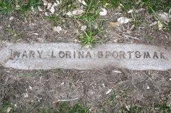 "Mary Lorena ""Lorena"" <I>Wiseman</I> Sportsman"