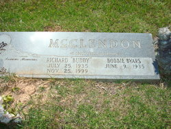 "Richard Henry ""Buddy"" McClendon"