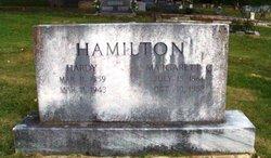 Margarett Catherine <I>Alsbrooks</I> Hamilton