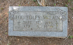 "Louis Edley ""Lou"" McLain"