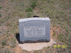"Mary Catherine ""Kate"" <I>Collins</I> Cochran"