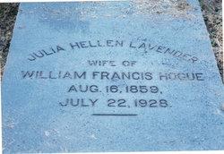 Julia Hellen <I>Lavender</I> Hogue