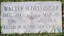 Sgt Walter Hansell Dellinger