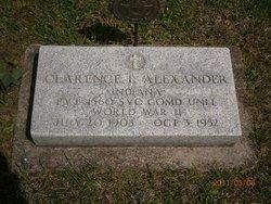 Clarence L Alexander