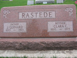 Clara C <I>Pfeiffer</I> Rastede