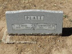 Gertrude D Platt