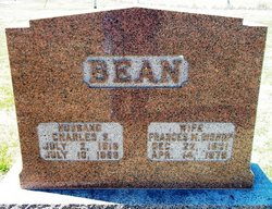 Frances Mariah <I>Bishop</I> Bean