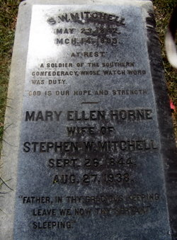 Mary Ellen <I>Horne</I> Mitchell