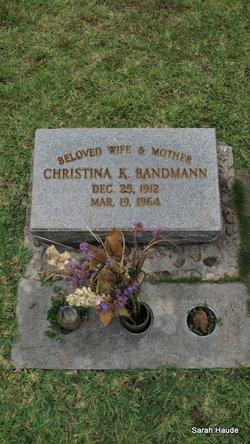 Christina K Bandmann
