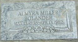 Almyra Christena <I>Miller</I> Bolander
