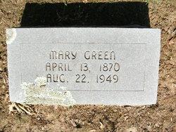 Mary Ann <I>Tucker</I> Green