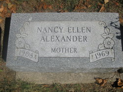 Nancy Ellen <I>Smith</I> Alexander