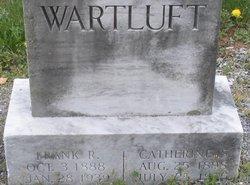 "Catherine Binkley ""Katie"" <I>Shank</I> Wartluft"