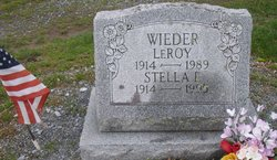 Stella E. <I>Zerbe</I> Wieder